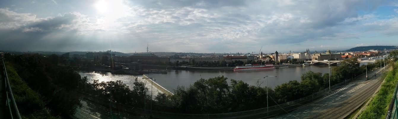 Panorama Prag