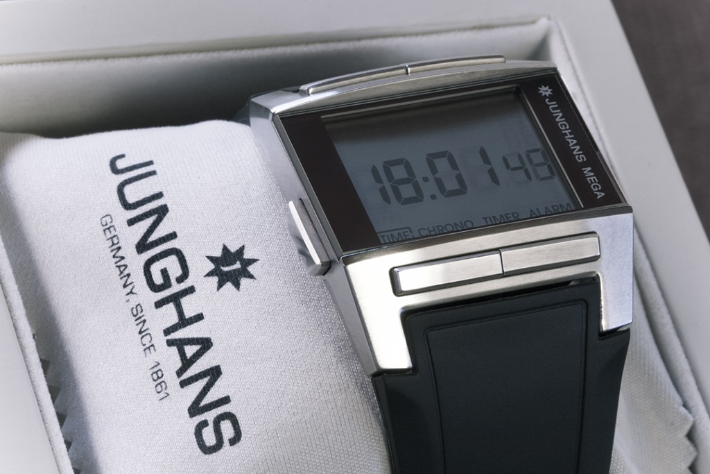 Junghans mega funkuhr armband
