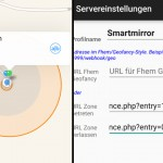 Präsenz / Anwesenheitserkennung Smart Mirror – Geofence