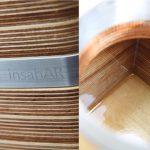 Ein neues Kleid aus Holz für die Insahar 2.0 Shisha