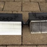 How to: Engine air filter change w204.025 350cdi