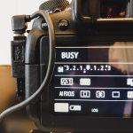 DJI Ronin S & Canon EOS 6D Mark II Kontrollkabel