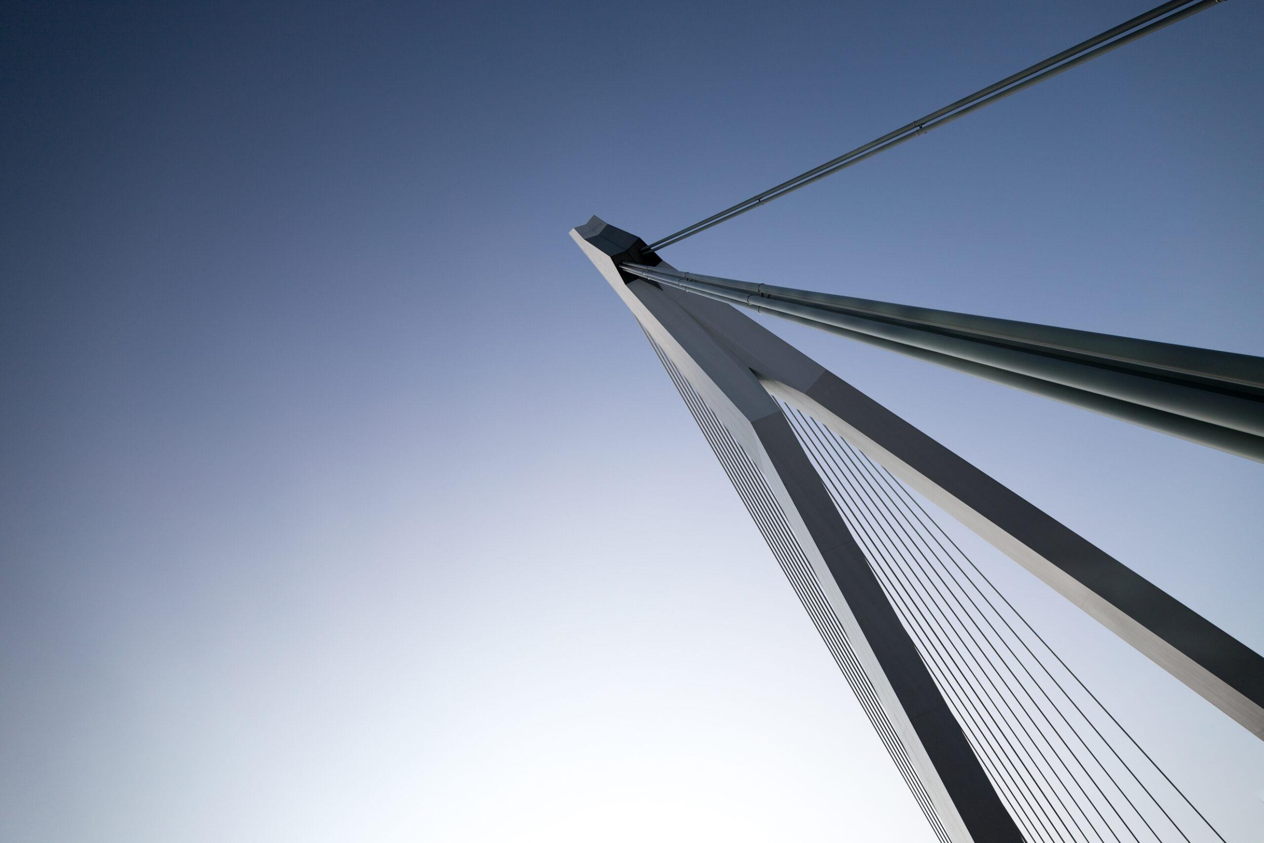 Erasmusbrug, Rotterdam, Netherlands, 2019